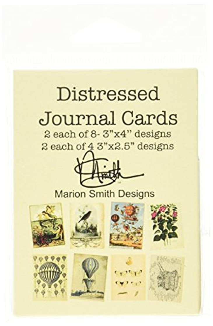 Marion Smith Designs MS101180 Distressed Journal Cards