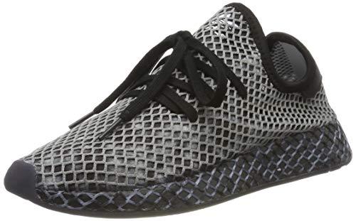 adidas Herren Deerupt Runner Sneaker, Schwarz (Core Black/Core Black/Footwear White 0), 46 EU