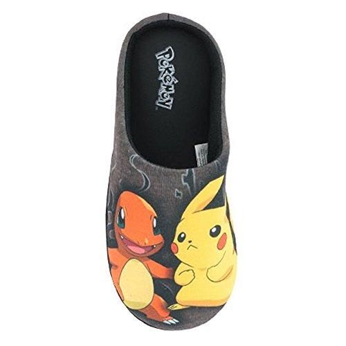 Socks Uwear Herren Hausschuhe Pokemon Hexley Cartoon Microsuede, - mehrfarbig - Größe: 46/47 EU