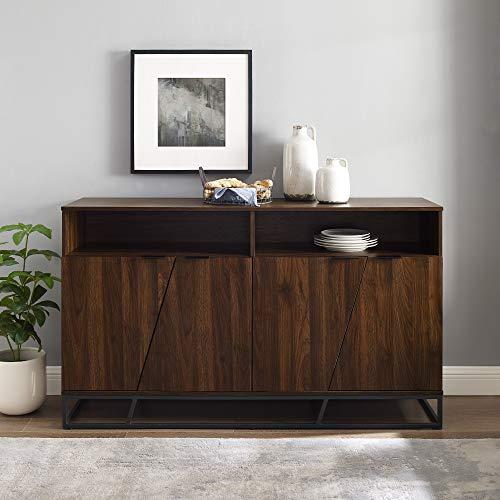 Walker-Edison-Furniture-Company-Angled-Door-Cabinet-Sideboard-Buffet-with-Open-Shelf-Storage-58-Dark-Walnut