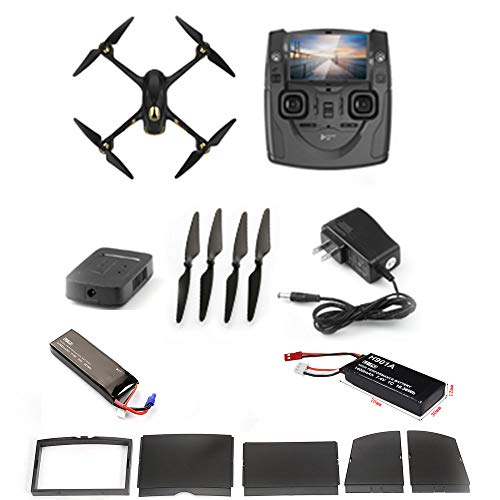 Hubsan-H501S-Drone-GPS-fpv-with-1080P-HD-camera-58G-live-video-RC-quadcopter-Follow-me-Altitude-modeAutomatic-Return-Headless-Mode-Great-for-adults-include-drone-and-RC-batteriesUpgraded-version