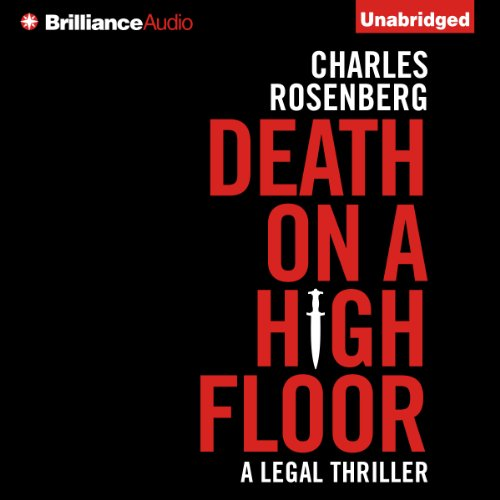Death on a High Floor audiobook cover art