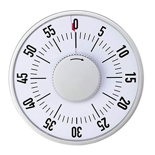 AFTIU Temporizador De Cocina, Temporizador De Cuenta Regresiva Manual De Cocina De 60 Minutos con Respaldo Magnético Y Diseño De Soporte, para El Recordatorio De Tiempo De Cantina