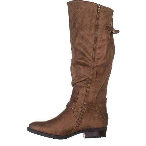 BareTraps Womens Yanessa2 Closed Toe Knee High Fashion Boots Taupe