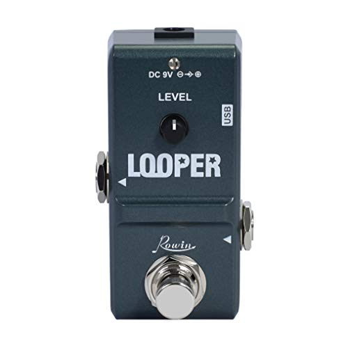 Rowin Tiny Looper Electric Guitar Effect Pedal 10 Minutes of Looping Unlimited Overdubs …