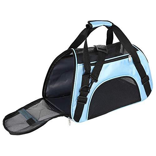 Vommpe Transporttasche für Katzen, Hunde, Handtasche, Schulterriemen, abnehmbar, waschbar, faltbar, für Katzen, Kätzchen, kleine Hunde, Kaninchen