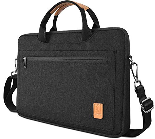 HP Elitebook Laptop Tas - 13.3 inch Pioneer Waterafstotende laptoptas met schouderband - Zwart