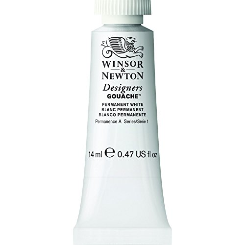 Winsor & Newton 0605512 Dise-adores Gouache color 14ml Blanco Permanente