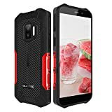 Móvil Resistente OUKITEL WP12, Android 11 Impermeable Smartphone 4GB+32GB, 5' HD+ IP68+ 4000mAh batería, Doble cámara 13MP+5MP, Dual SIM,GPS,NFC, Face ID
