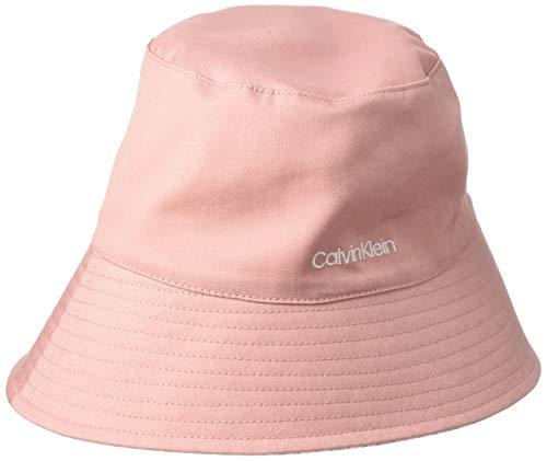 Calvin Klein Jeans Oversized Rev Bucket Hat Sombrero de Copa Baja, Abedul Mono, One Size para Mujer