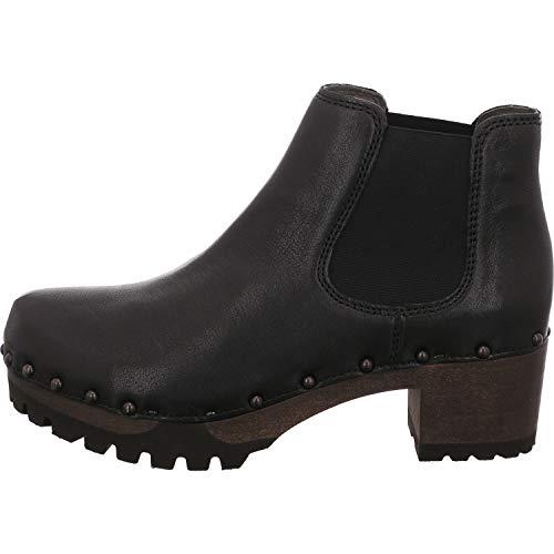Softclox Damen Stiefeletten Isabell 3358-22 schwarz Washed Nappa 3358-22 schwarz 755867