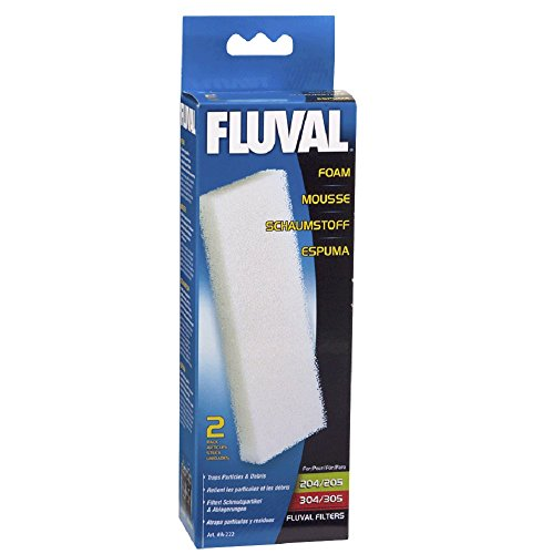 Price comparison product image Fluval Filter Foam Block 204 / 5-304 / 5 2pk