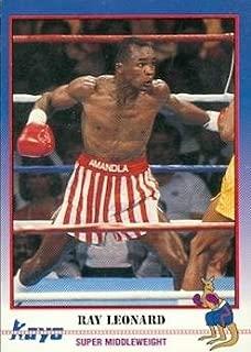 Sugar Ray Leonard Trading Card (Boxing) 1991 Kayo #90
