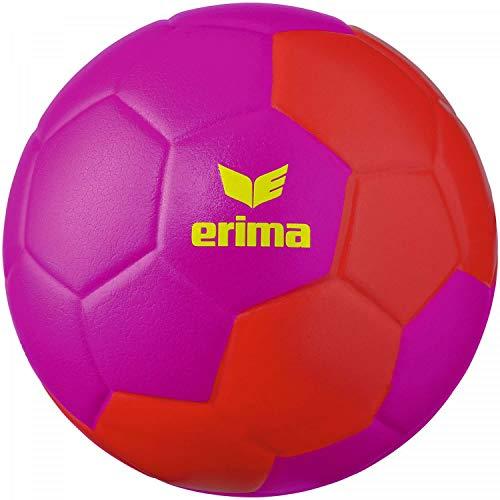 Erima Unisex Jugend Pure Grip Kids Handball, pink/rot, 00