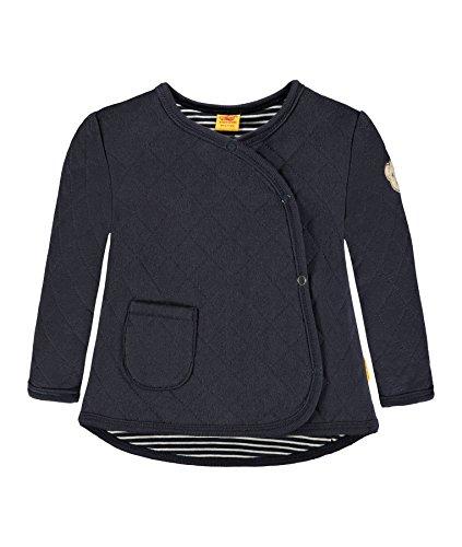 Steiff Steiff Mädchen Jacke 1/1 Arm Sweatshirt, Blau (Marine 3032), 62