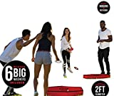 Wicked Big Sports Washer Toss-Supersized Washer Toss Portable Outdoor Sport Tailgate Backyard Beach Game