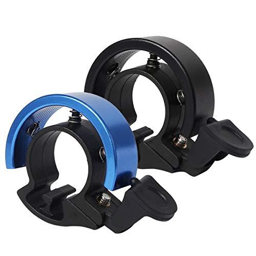 Timbre de Bicicleta, Anillo de aleación de Aluminio para Bicicleta con Sonido...