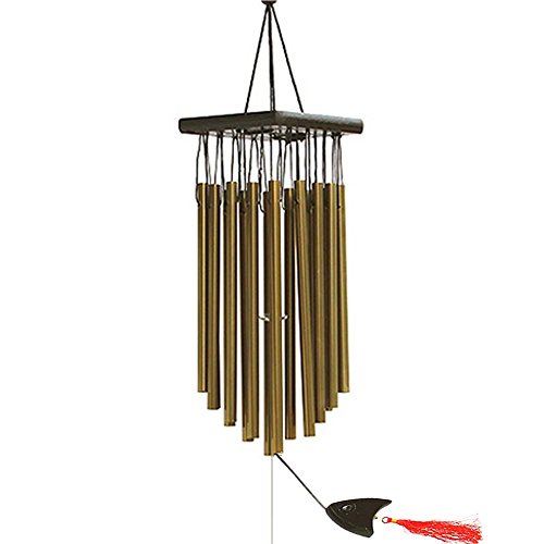 Toim Carillon 16 tubes aluminium 68 cm Sons Lovely Carillon (couleur bronze)