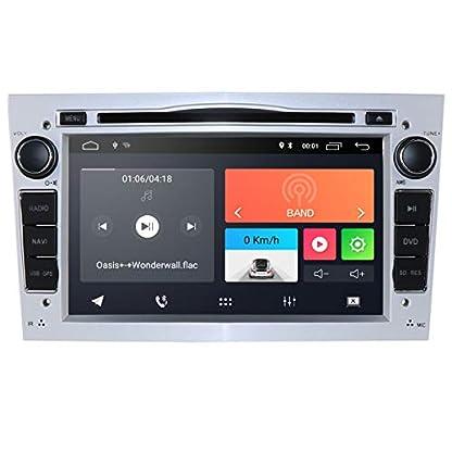 hizpo-Android-10-Autoradio-DVD-Player-mit-Bluetooth-GPS-Navigation-7-Zoll-Touchscreen-Lenkradsteuerung-WiFi-4G-USB-SD-CAM-In-passend-fuer-Opel-Antara-Vectra-Crosa-Vivaro-Zafira-MerivaSilber