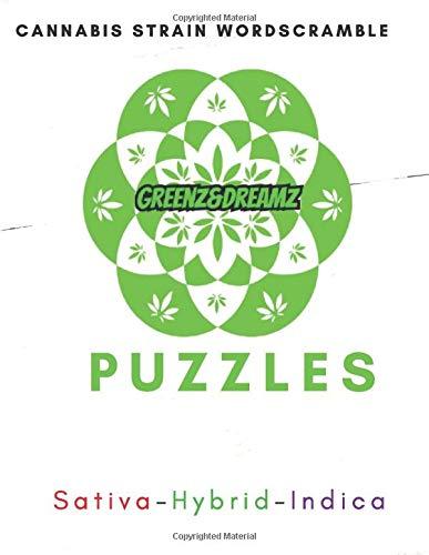 GREENZ AND DREAMZ PUZZLES: Cannabis Strain Wordscramble
