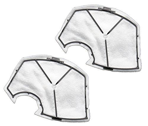 TOP SET - 2 Filter / Motorschutzfilter (Motorfilter) geeignet Für Vorwerk Kobold VK 140, 150, VK140, VK150
