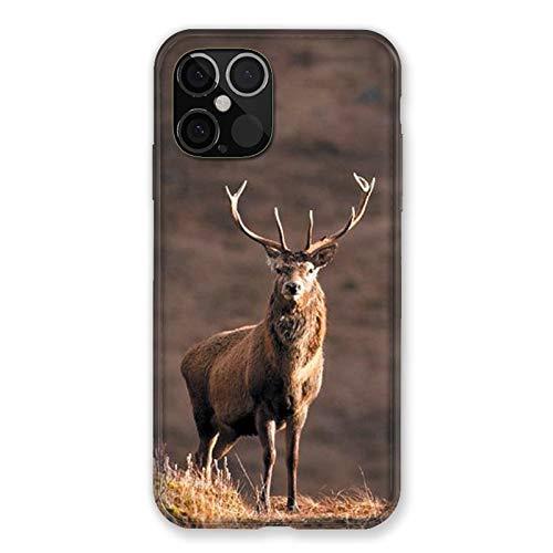 Carcasa para iPhone 12 Pro MAX Chasse Chevranuil, Color Blanco