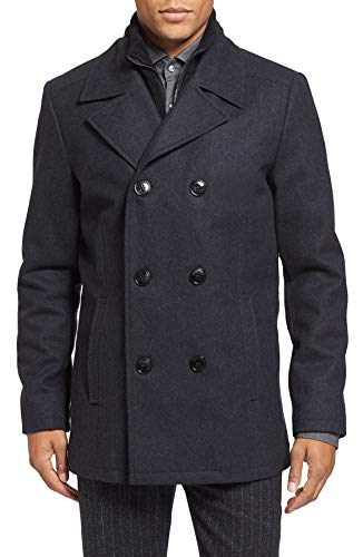 Kenneth Cole New York Wool Peacoat Navy MD