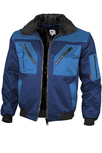 Qualitex - Pilotenjacke 4 in 1, Marine/Royal , S