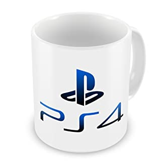 Playstation 4 PS4 Logo Coffee / Tea Mug (B00FNSY2AI) | Amazon price tracker / tracking, Amazon price history charts, Amazon price watches, Amazon price drop alerts