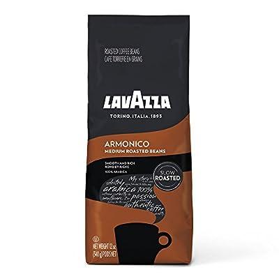 Lavazza Whole Bean Coffee Blend, Medium Roast, Medium Roast, 12 Ounce