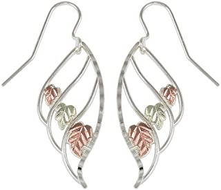 product image for Black Hills Silver Three Leaf Dangle Earrings