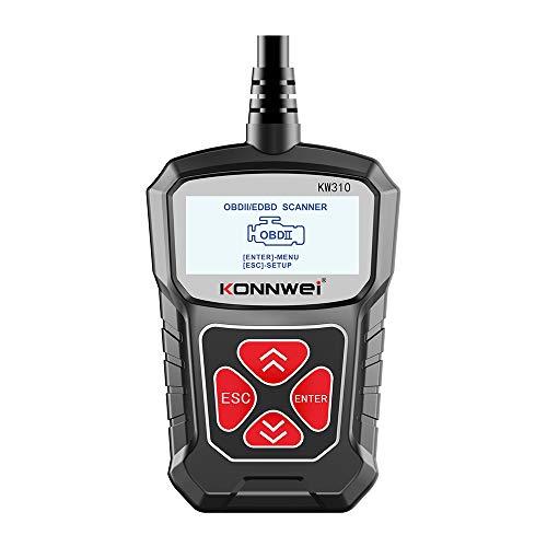 GoolRC- KW310 Probador de Coches Universal Coche Scanner Lector de Código automotriz...