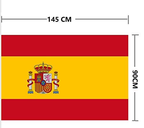 Bandera de España (España 150 * 90 cm Polister)