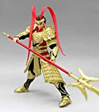 N/F SHIJIU SHIMENG Romance of The Three Kingdoms, The World's First General, The Courage of The Tiger, Lu Bu. Model Statues, Action Figures (Yellow)