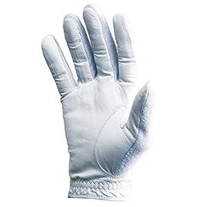 Tourna Tennis Glove-Mens-Full, Finger-Medium-Right, White, Small (TGF-M-M-R)