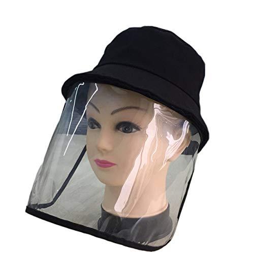 Sqklv Cappello da Sole per Adulti Unisex Cappellino Protettivo Trasparente Anti Polvere di Sabbia Cappello da Esterno Cappello da Sole |Signora
