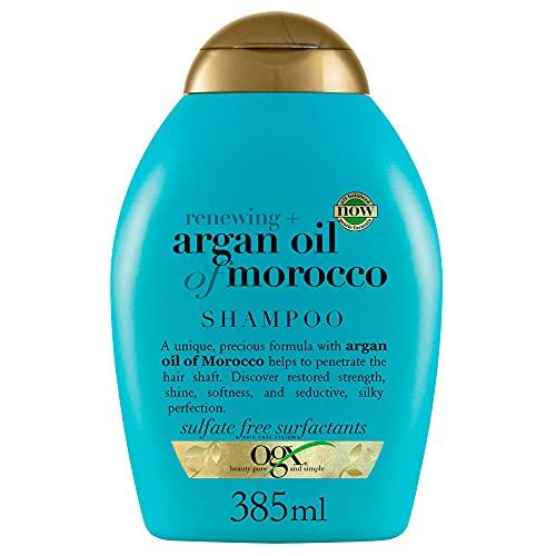 OGX, Champú Aceite de Argán de Marruecos, Cabellos Secos y Dañados, 385 ml