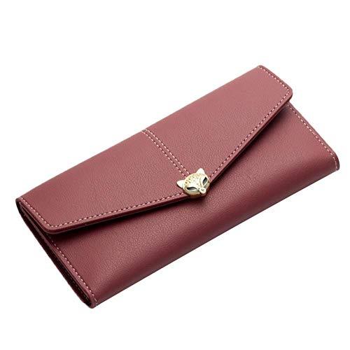 Regen lange portemonnee portemonnee vrouwen koppeling ID kaarthouder Billfold portemonnee handtassen