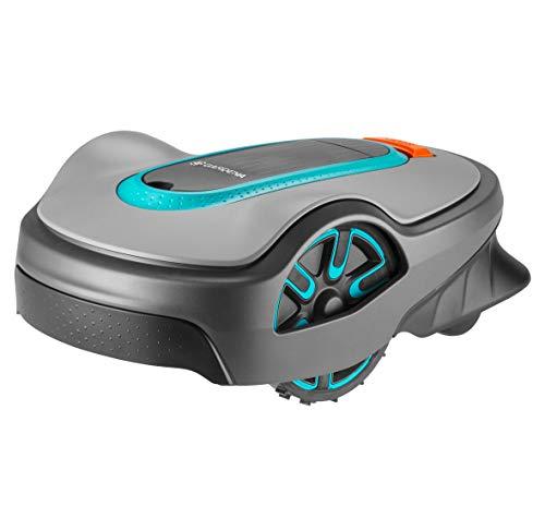 GARDENA SILENO life: Mähroboter für Rasenflächen bis 1000 m², Bluetooth-App bedienbar, Easy-Passage-Funktion, mit 57 db(A) sehr leise, Steigungen bis zu 35%, mäht bei jedem Wetter (15102-20)