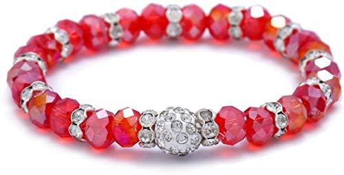 Pulsera de piedra, mujeres, 7 chakra, perlas de corte de piedra natural, cristal, cristal, brazalete, hierro, joyería, joyería, yoga, energía, difusor, brazalete, regalo de la pulsera para amiga