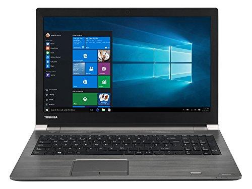 TOSHIBA Tecra A50-C-1ZU Laptop (Intel i5-6200U, 39,6cm 15,6Zoll Full-HD entspiegelt, 8GB RAM, 256GB SSD, WLAN, Bluetooth 4.0, Windows 10 Pro) grau