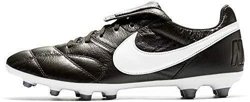 Nike Tiempo Premier FG, Botas de fútbol Unisex Adulto, Negro (Black/Summit White-Orange...
