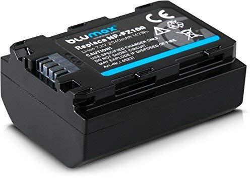 Blumax Akku ersetzt Sony NP-FZ100-2040mAh mit Sanyo-Zellen | kompatibel mit Sony Alpha 7RM3, 7M3 / 7 III/Alpha 7R III / 7R IV/Alpha 6600 / Alpha 9 II / A9S - 100% kompatibel mit aktueller Firmware