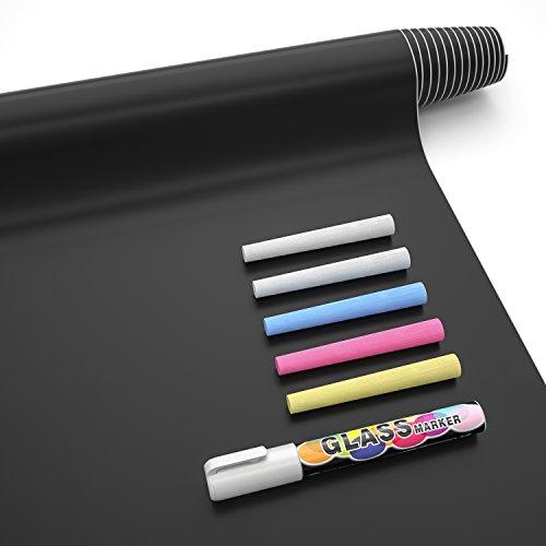 Nicpro Chalkboard Contact Paper, 17.7' X 78.7' (6.5 Feet) Self...
