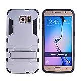 COOVY® Funda para Samsung Galaxy S6 SM-G920F SM-G920 de plástico y Silicona TPU, extrafuerte, con...