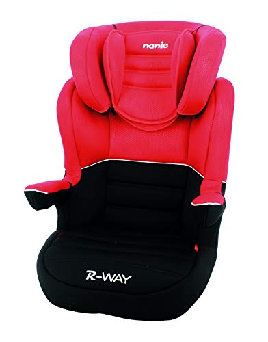 nania - RWAY Isofix Kindersitz - Gruppe 2/3 (15-36Kg) (Rouge)
