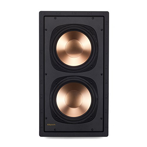 Klipsch RW-5802 II IW SUB In-Wall Speaker - White (Each)