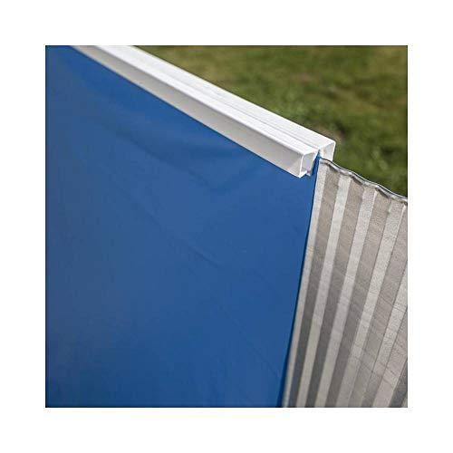Gre FPROV610 - Poolfolie für ovale Pools, 610 x 375 x 120 cm (Länge x Breite x Höhe), blau