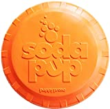 SodaPup Flying Disc Top - Dog Interactive Toys - Tough Dog Toys - Fetch Toys - Strong Dog Toys - Dog...