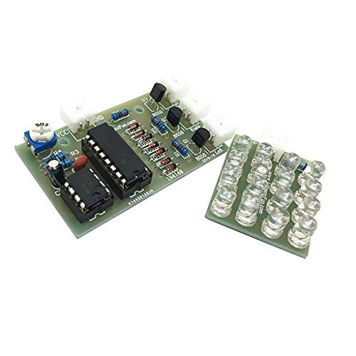Detonación de flash luz eléctrica Kit...